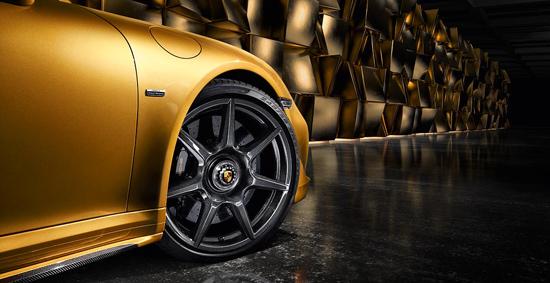 保时捷911 Turbo S Exclusive Series将提供编织碳纤维轮毂