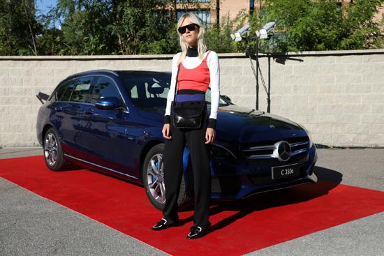 2017年梅赛德斯-奔驰全球时尚活动 米兰时装周特别呈现新晋品牌