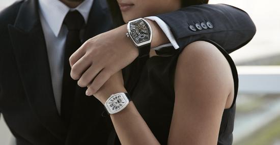 瑞士高级腕表品牌FRANCK MULLER法穆兰圣诞闪烁精选