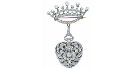 爱情信物,历久弥坚——蒂芙尼Gifts of Love古董珠宝凝聚恒久真爱力量