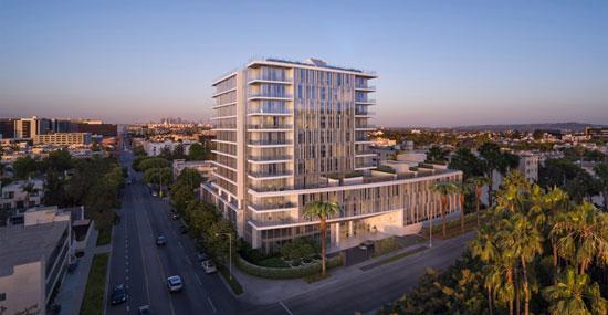 毗邻比弗利山的洛杉矶首家四季私人住宅即将盛大启幕