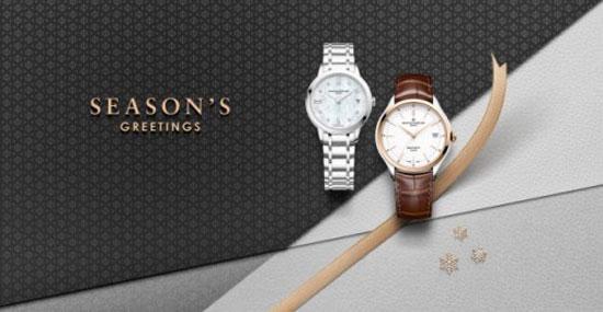 名士克里顿BAUMATICTM腕表与克莱斯麦镶钻珍珠贝母表盘款: 欢庆珍贵时刻