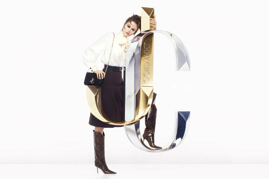 JIMMY CHOO 2019秋冬季广告大片发布 STEVEN MEISEL掌镜超模KAIA GERBER新形象
