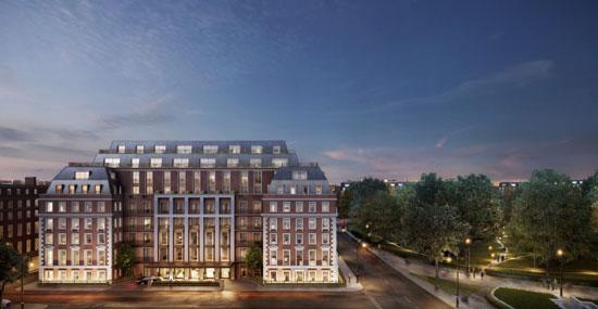 伦敦格罗夫纳广场20号——全球首个四季酒店独立私人住宅盛大启幕