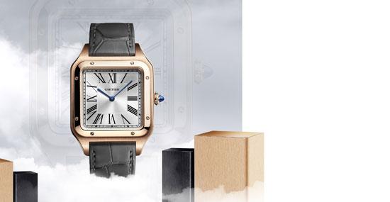 潇洒风范 内外兼修——卡地亚Santos-Dumont XL号腕表全新亮相