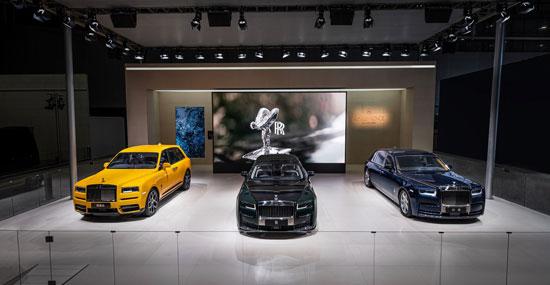 全新古思特演绎最新设计语言 劳斯莱斯汽车携最强产品阵容亮相第十八届广州国际汽车博览会