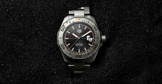 TAG Heuer泰格豪雅与Bamford Watch Department再次携手推出竞潜系列(Aquaracer)Bamford限量版腕表 勇攀专业时计新境界
