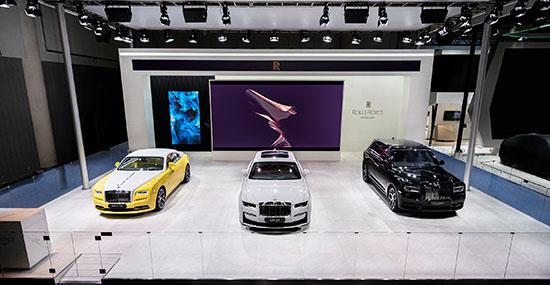 臻世之作 至美典藏——劳斯莱斯汽车亮相2021成都国际汽车展览会